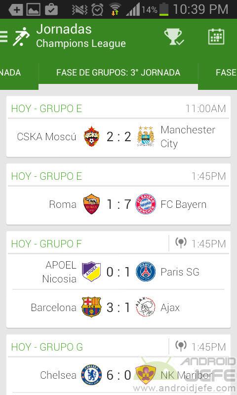 aplicaciones futbol2