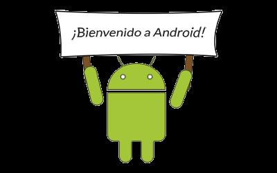 bienvenido android simple