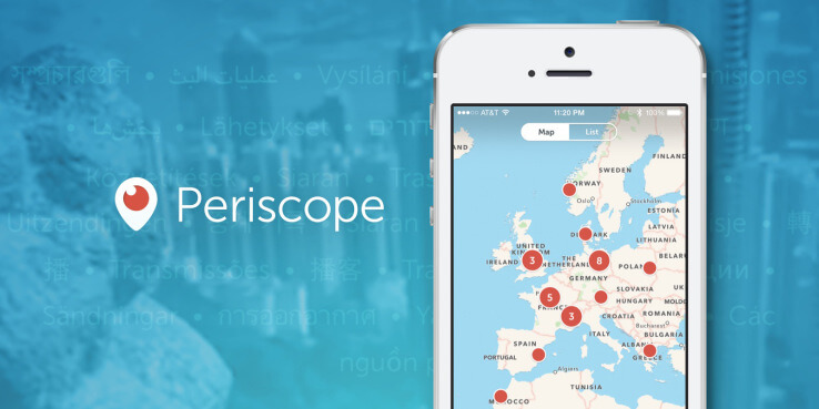 periscope android simple