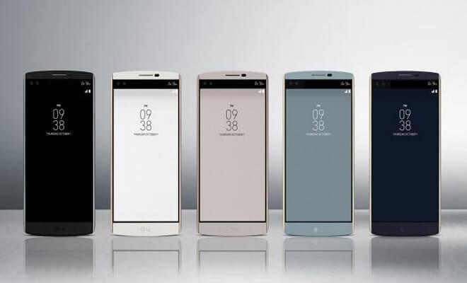LG V10 colores