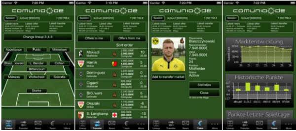 aplicaciones para gestionar el comunio para android comunio