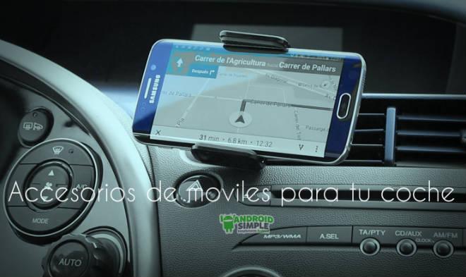 Accesorios de moviles para tu coche