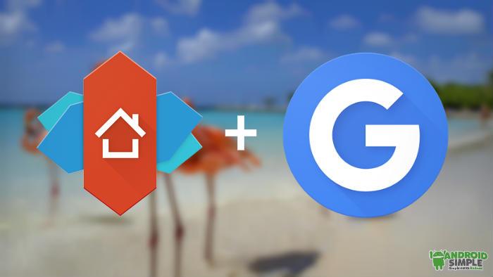 Google Now funcionando en el Nova Launcher
