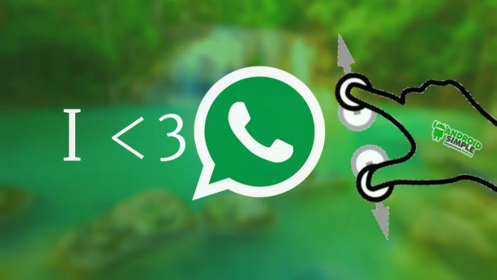 Como Ampliar la foto de Whatsapp