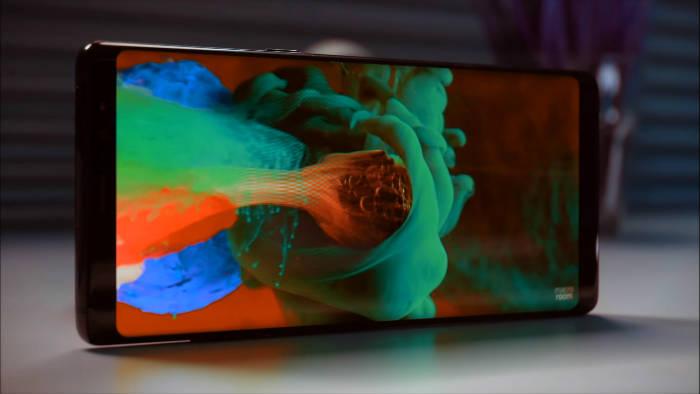 Razones para comprar el Samsung Galaxy Note 8 Pantalla