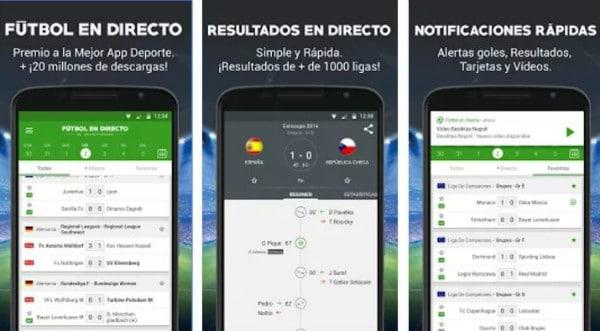 app futbol directo