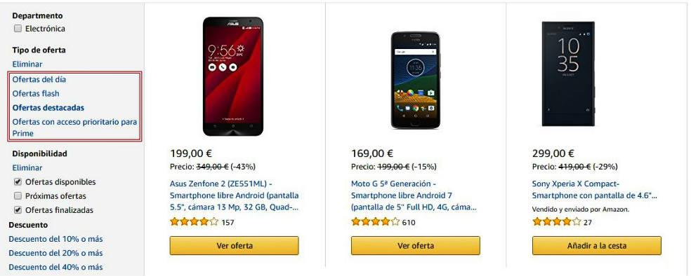 Cómo conseguir Ofertas en Amazon