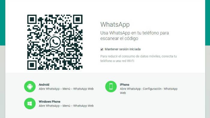 Configuración de Whatsapp Web