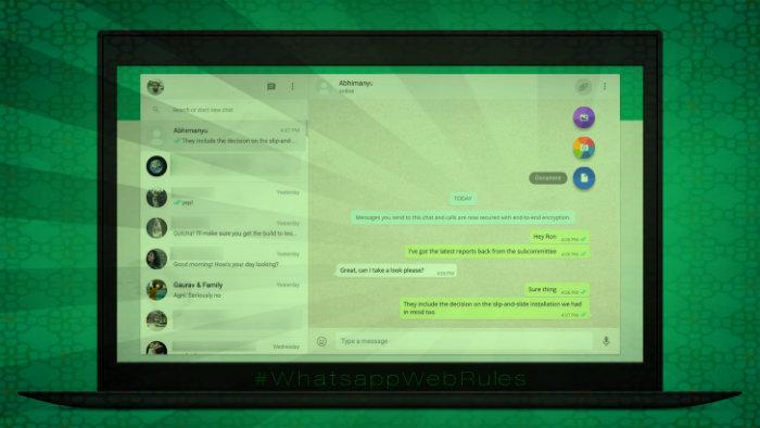 Cosas que puedes hacer en Whatsapp Web