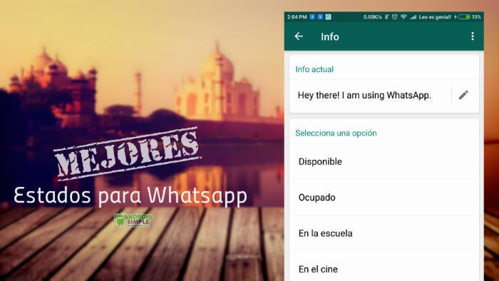 Mejores estados para Whatsapp
