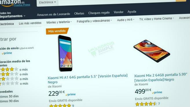 Comprar Xiaomi en Amazon España