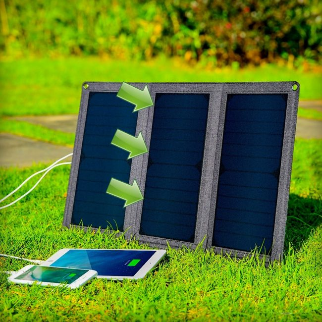 Como colocar bien el cargador solar