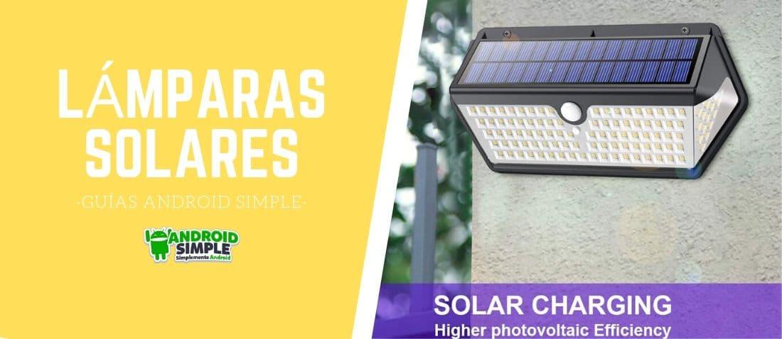 guia lampara solar