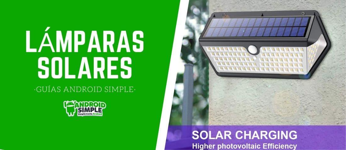 mejores lamparas solares