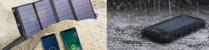 cargador solar vs power bank solar